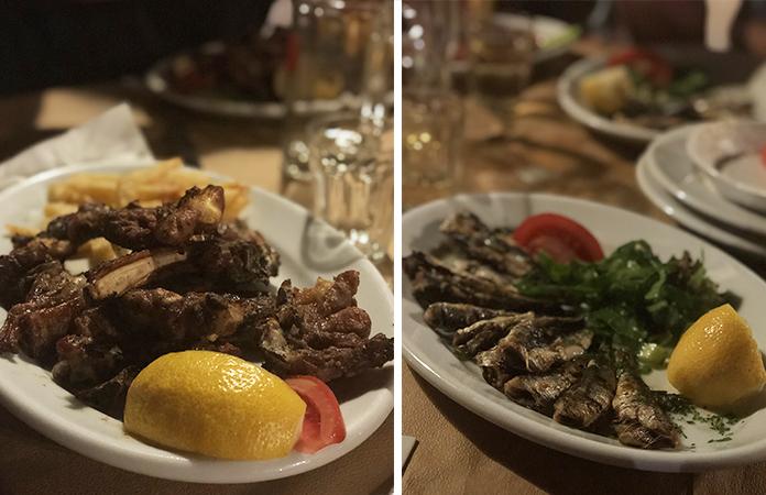 Fisilanis restaurant Paros
