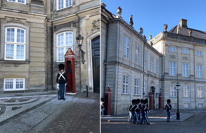 Copenhague Relève de la garde