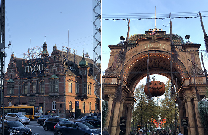 Copenhague Jardin Tivoli