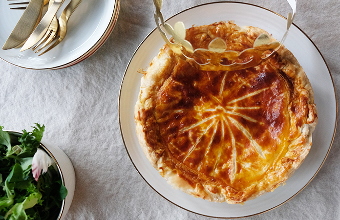 Galette des Rois jambon fromage
