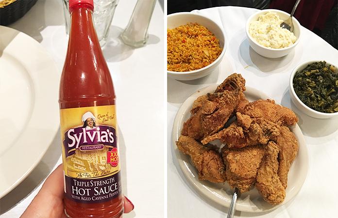 Sylvia restaurant Harlem