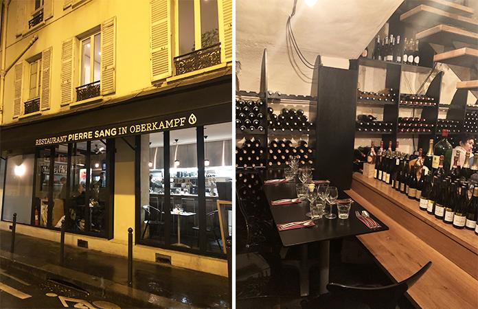 Pierre Sang restaurant in Oberkampf - Paris
