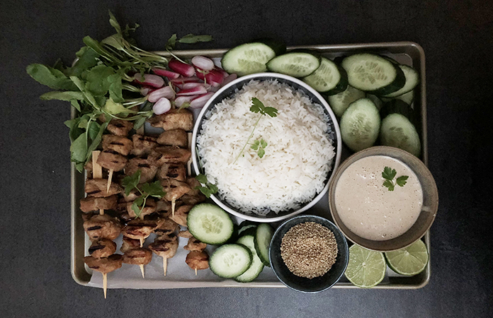 Poulet parfumé et riz basmati | Une recette parfumée
