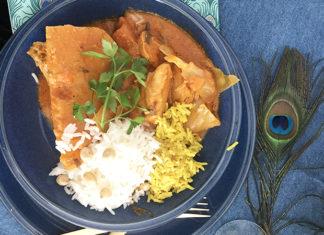 Mafé de poulet | Une recette Sénégalaise à la pâte de cacahouètes