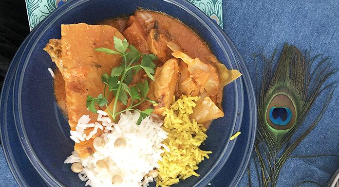 Mafé de poulet   Une recette Sénégalaise à la pâte de cacahouètes