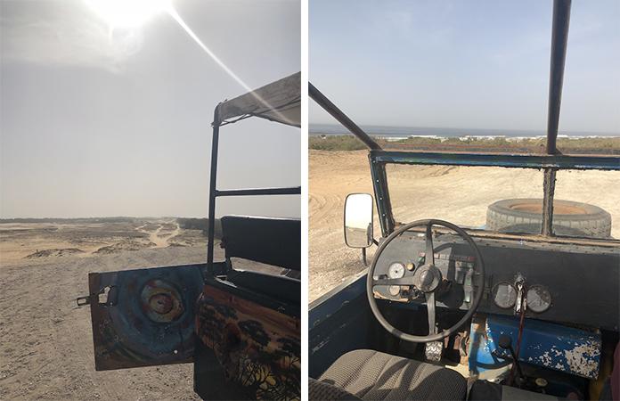 e désertsur les traces du Paris-Dakar