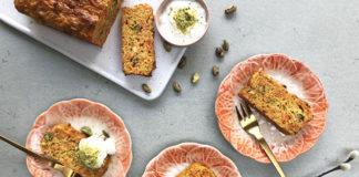 Carotte cake à la pistache | Une recette sans beurre
