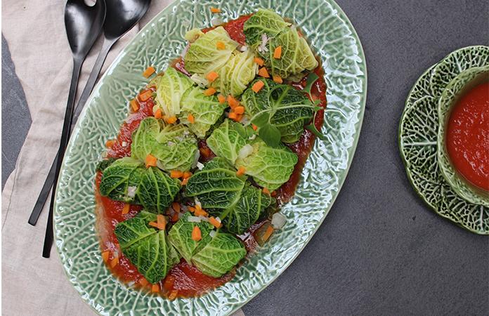 feuilles de choux farcies