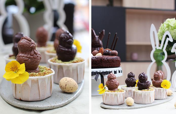 Brownies au tahiné et cake à la compote   2 recettes de desserts de Pâques sans beurre