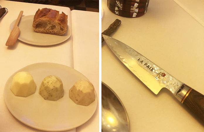 Restaurant la Paix avec le jambon Ganda