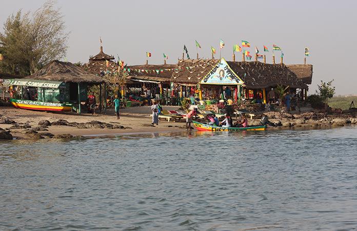 Bar plage Sénégal