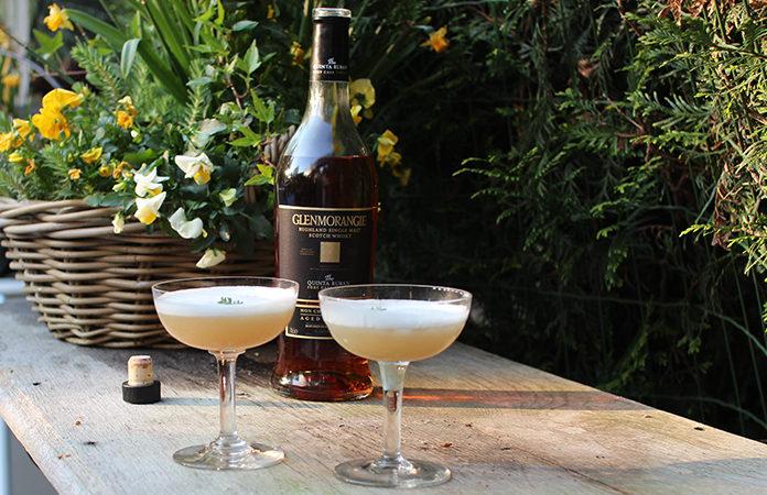 Whisky Sour avec blanc d'œuf | Un de mes cocktails préféré