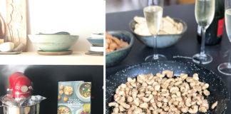 Noix de cajou confites au citron et au sésame   Une recette du livre Cuisine de la terre