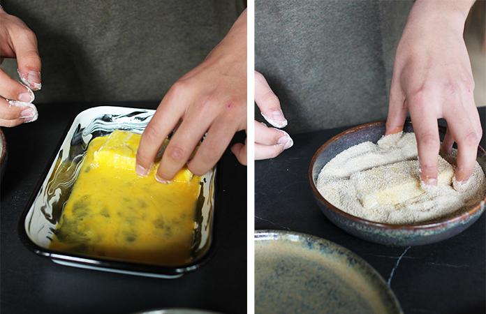 Croquettes aux fromages