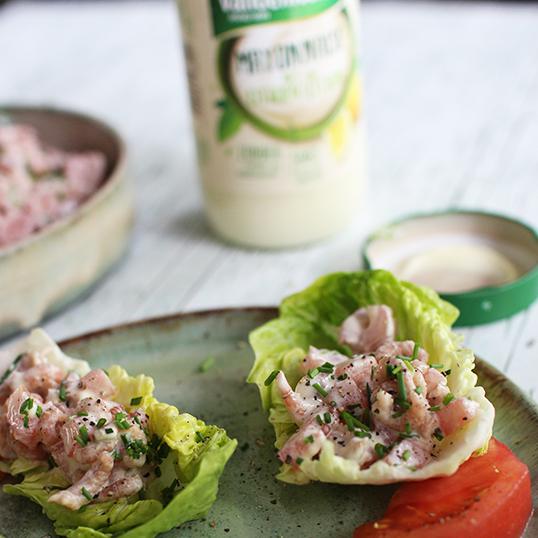 Tomate Crevettes mayonnaise