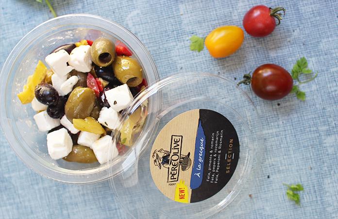 mix d'olives à la grecques