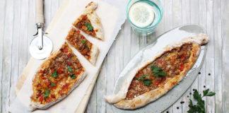 Pizza allongée turque - Pide