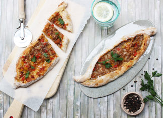 Pizza allongée turque - Pide