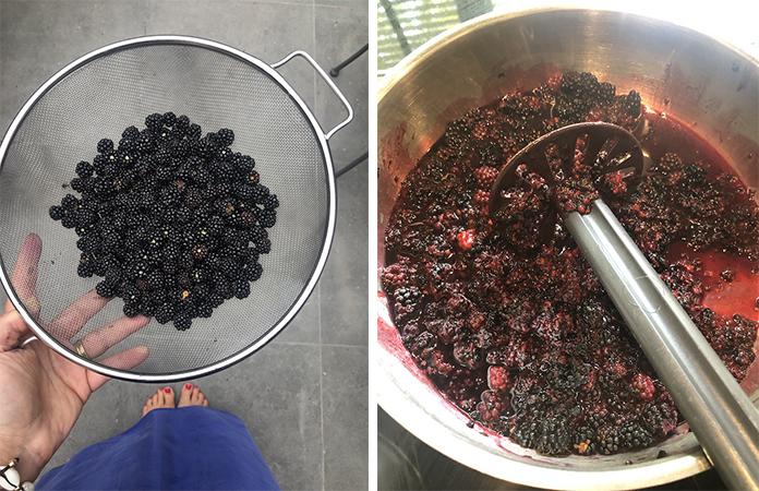 Tarte aux mûres du jardin | Une recette d'août
