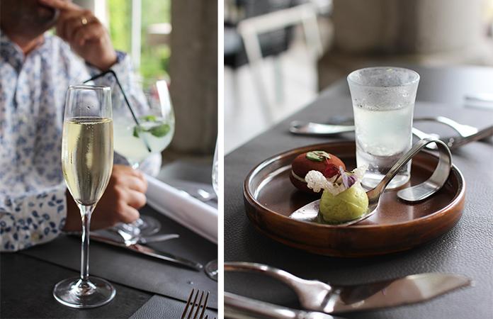 Le restaurant gastronomique du Manoir de Lébioles
