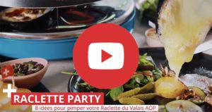vidéo raclette