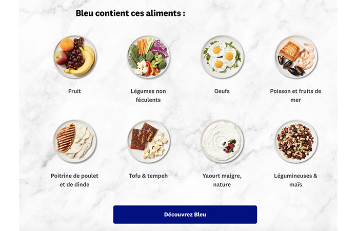 ww liste ingrédients bleu